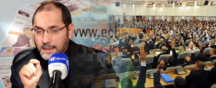 """الشروق: مقري: تعديل الدستور """"حوار طرشان"""" بين السّلطة والمعارضة"""