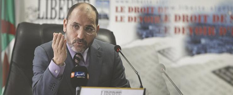 مقابلة صحفية مع جريدة liberté