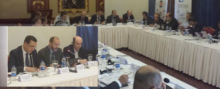 مداخلة د.مقري في ملتقى مراكز الدراسات من اجل شرق أوسط مستقر وآمن بتركيا