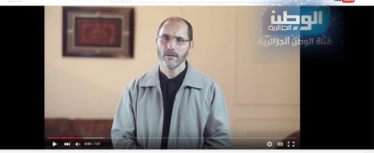 تعقيب د.عبد الرزاق مقري على قرار إيقاف قناة الوطن